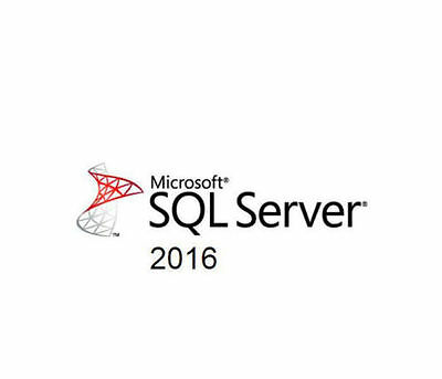 Microsoft SQL Server 2016 Standard 16 Core - Retail Key - USB Included