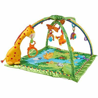 Fisher-Price Rainforest Melodies and Lights Deluxe Gym, USED, GREAT CONDITION