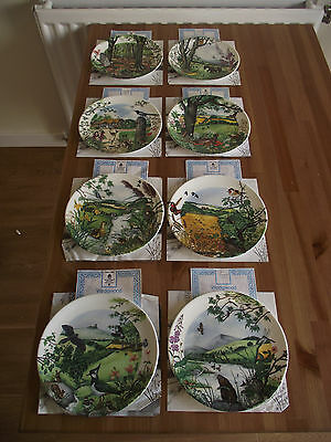 Collection of Wedgwood plates - mint condition