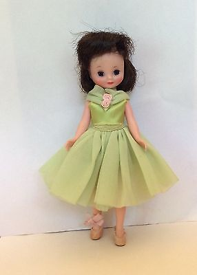 1950's American Character BETSY MCCALL DOLL Original Outfit GREEN BALLERiNA