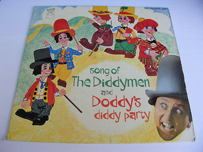 SONG OF THE DIDDYMEN & DODDY'S DIDDY PARTY  Ex MFP UK 1970s P/S EP