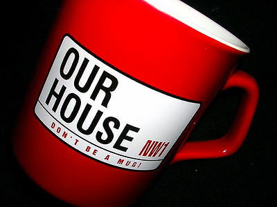 Our House Madness Musical - Official China Mug - Suggs Ska Two 2 Tone Stiff