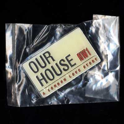 Our House Madness Musical - Official Enamel / Chrome Badge - Suggs Two 2 Tone