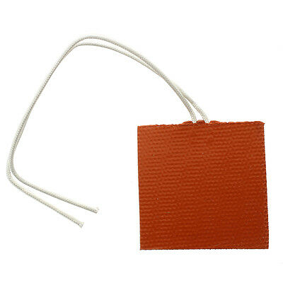 DC 12V 10W Mat Cushion Cover Electric Heating Silicone Rubber Flexible Heat W9H2