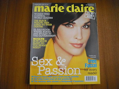 Marie Claire - February 1997 - Uk Edition - Julie Christie, Carole Lombard