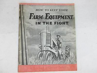 John Deere Handbook How to Keep Your Farm Equipment In The Fight
