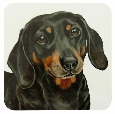 Waggy Dogz Dachshund Sausage Dog Dog Puppy Made In Uk Present Quality Coaster