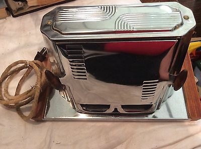Vintage Speed Master Series 680 Electric Toaster withTray