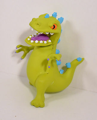 "1997 Reptar Dinosaur Dino 3.5"" PVC Action Figure Rugrats Blockbuster Exclusive"