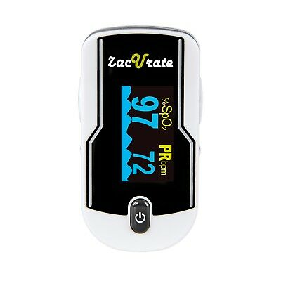 Zacurate 430DL Fingertip Pulse Oximeter Blood Oxygen SpO2 Heart Rate O2 Monitor