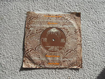 "Procol Harum A Whiter Shade Of Pale Fly Records Uk 7"" Vinyl Single Ep + P/sleeve"