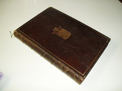 """Leather Bound Antique Book - """"Character - Its Elements and Development"""" - 1896"""