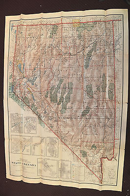 State of Nevada 1914 compiled from the official records of General Land Office