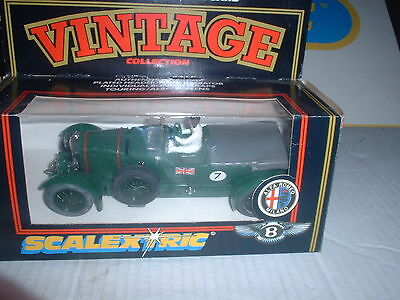 SCALEXTRIC VINTAGE SERIES REF No C.305  4.5 LITRE BENTLEY CAR MINT/BOX
