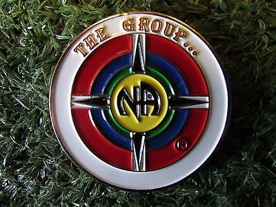 Narcotics Anonymous recovery token. THE GROUP. Rare coin gift. N.A.