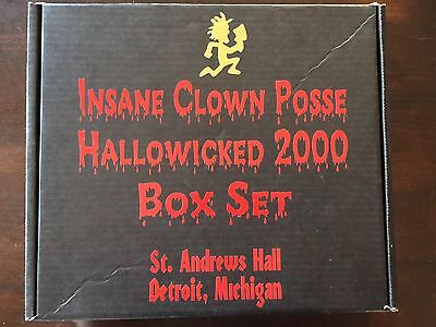 ICP Hallowicked 2000 Collectors Box With Twiztid Autographs And More!