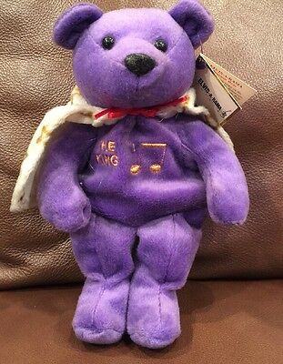 Elvis Presley - Elvis-A-Rama Museum Bear  The King,  Elvis Collectible NEW
