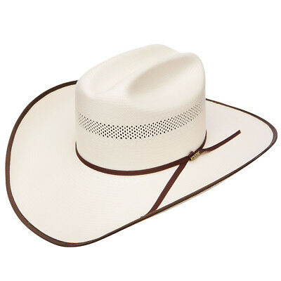 "Stetson Resistol Chance Bound 10X Horse Riding Cowboy Hat W/ 4-1/2"" Brim Natural"