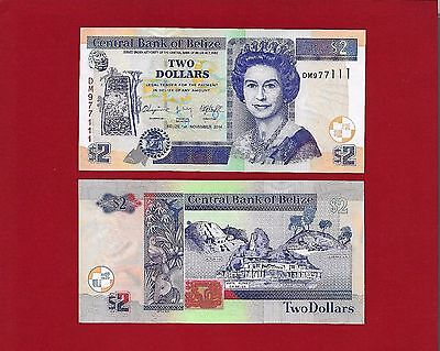 BELIZE - $2 - 2014 NEW Uncirculated