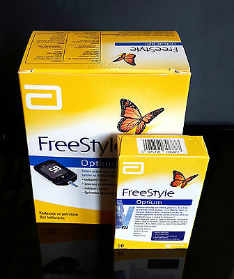 Freestyle Optium Neo Blood Glucose  Monitoring System+50 Test Strips