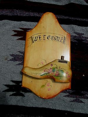 Antique Shoe Mold Sign Advertising/Residential