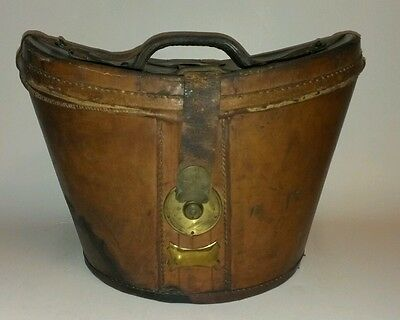 Top Hat Leather Bucket Box