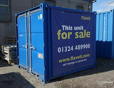 8ft New Steel Container