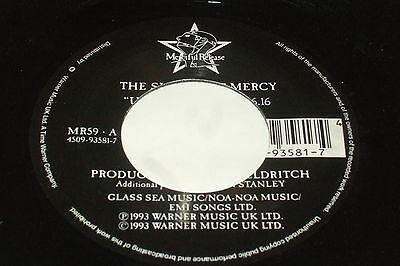 """The Sisters Of Mercy – Under The Gun 7""""       1993    ALTERNATIVE / GOTH"""