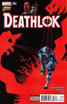 Deathlok (2014 series) #3 in Near Mint condition. FREE bag/board