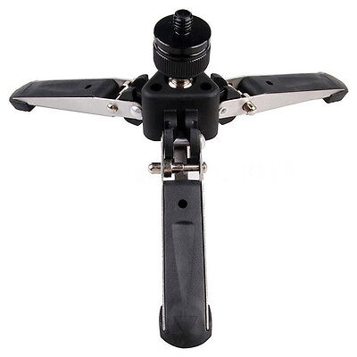 Universal Three-Foot Support Stand Monopod Base for Tripod Head DSLR L2S5 FK
