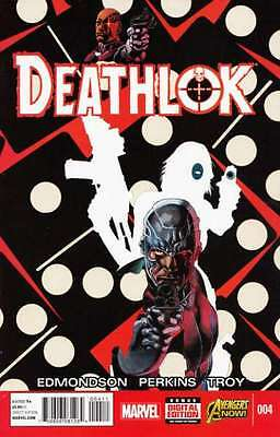 Deathlok (2014 series) #4 in Near Mint condition. FREE bag/board