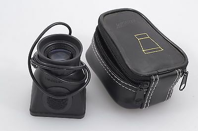 "Mint- Hoodman Hood Loupe 2.5"" Lcd Loupe In Case, Strap, Barely Ever Used"