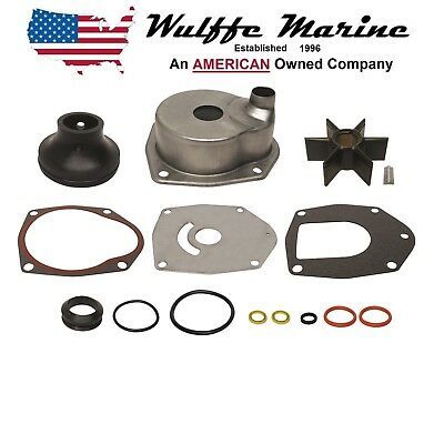 Water Pump Impeller Kit & Housing for Mercruiser Alpha Gen II 817275Q05 18-3147