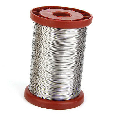0.5mm 500G Stainless Steel Wire for Beekeeping Beehive Frames Tool 1 Roll E8L4