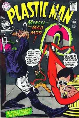 Plastic Man (1966 series) #6 in Very Fine condition. FREE bag/board