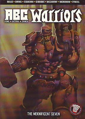 ABC Warriors volume 1 The Meknificent Seven trade paperback 2000AD