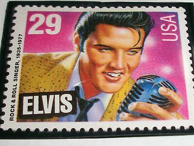 RARE Elvis Presley postcard stamp ballots  ( 5 )  AND Stamp   99 cent auction