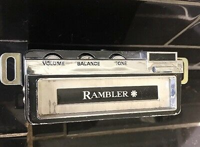 Rambler Vintage Car Stereo Radio BM-909 Made In Japan