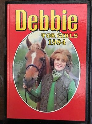 Debbie For Girls 1984 Hardcover Book Rare vintage Jinty June Penny