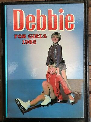Debbie For Girls 1983 Hardcover Book Rare vintage Jinty June Penny