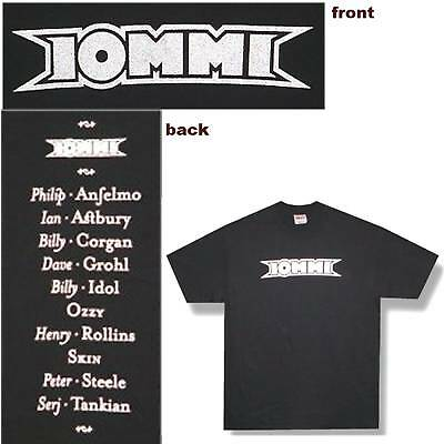 Tony Iommi Solo Album Black T-Shirt Sabbath Xl New Sabbath Grohl Corgan Steele