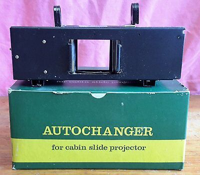 AUTOCHANGER FOR CABIN SLIDE PROJECTOR in Original Box With Instructions
