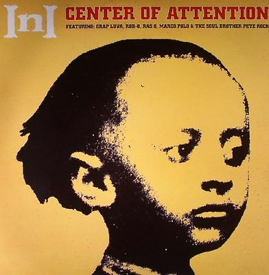 "Ini "" Center Of Attention "" New Lp *** Coloured Vinyl *** Pete Rock Centre"
