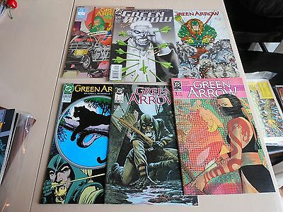 Green Arrow Lot Of 16. 1987-2002 Vf-Nm #0-132 Mike Grell Covers/story Arrow Tv