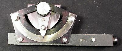 Vintage LUTZ SLOPE GUAGE designed for the US Air Force