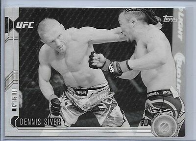 DENNIS SIVER '15 Topps CHRONICLES UFC Black & White (/188) Gem Mint RARE UFN 112