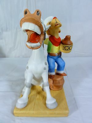 """Prairie Dawg Collection """" Wettin Yer Whistle """" Featuring Nipper Statue"""