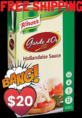 KNORR Garde d'Or HOLLANDAISE Sauce - 1 Litre *Free Shipping* On Special