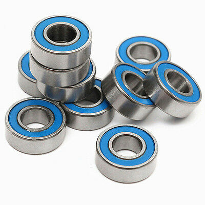 10pc MR115-2RS Double-shielded Miniature Ball Bearings Deep Groove 5x11x4mm
