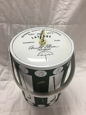 Vintage 1976 LATROBE COUNTRY CLUB ARNOLD PALMER HOME COURSE Member Guest Cooler